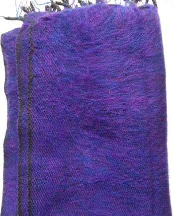Yak Wool Purple Scarves
