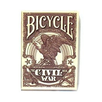 Bicycle Playing Cards Civil War- Red