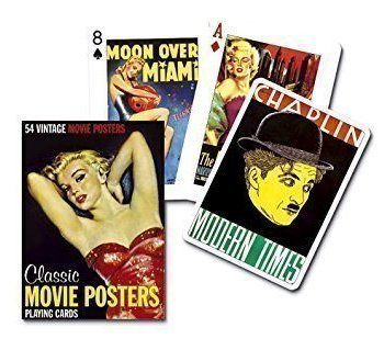 Piatnik Playing Cards- Classic Movie Posters
