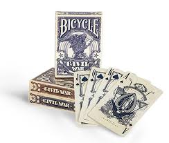 Bicycle Playing Cards Civil War- Blue