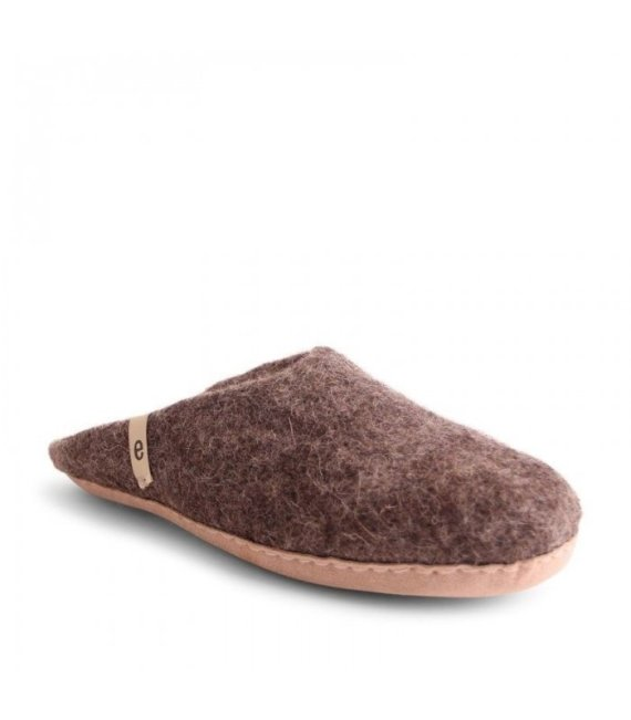 egos slipper brown
