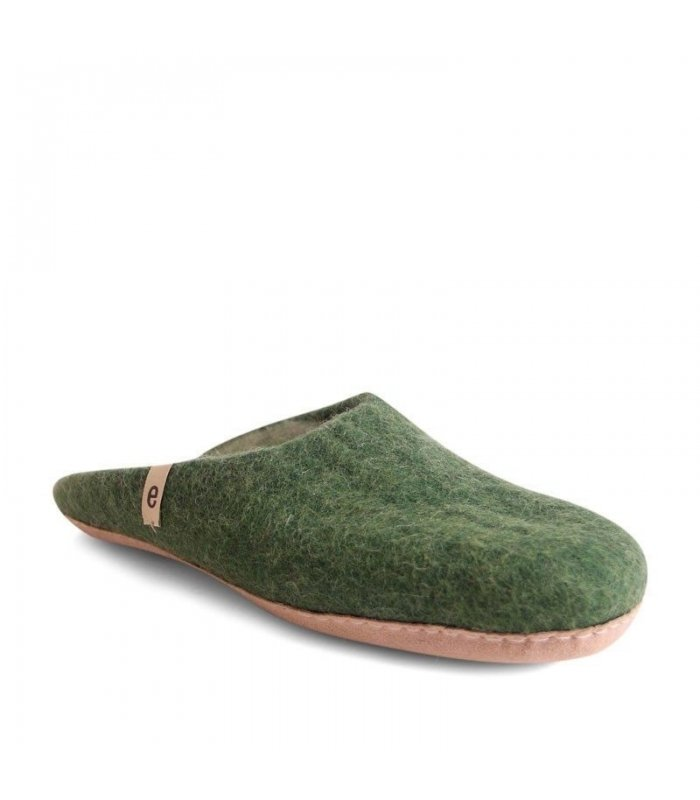 egos slipper green