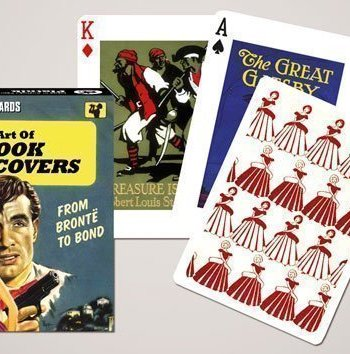 Piatnik Playing Cards- The Art Of Book Covers