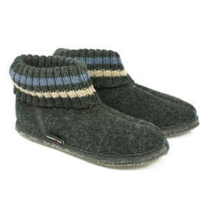 Haflinger Slipper Boot Paul - Graphite