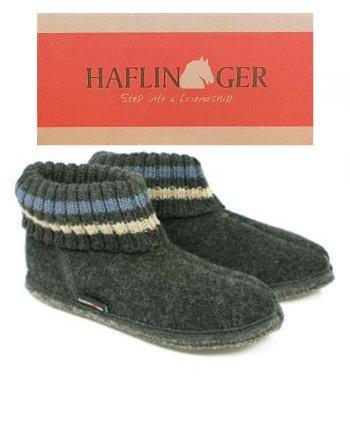 Haflinger Slipper Boot Paul - Graphite