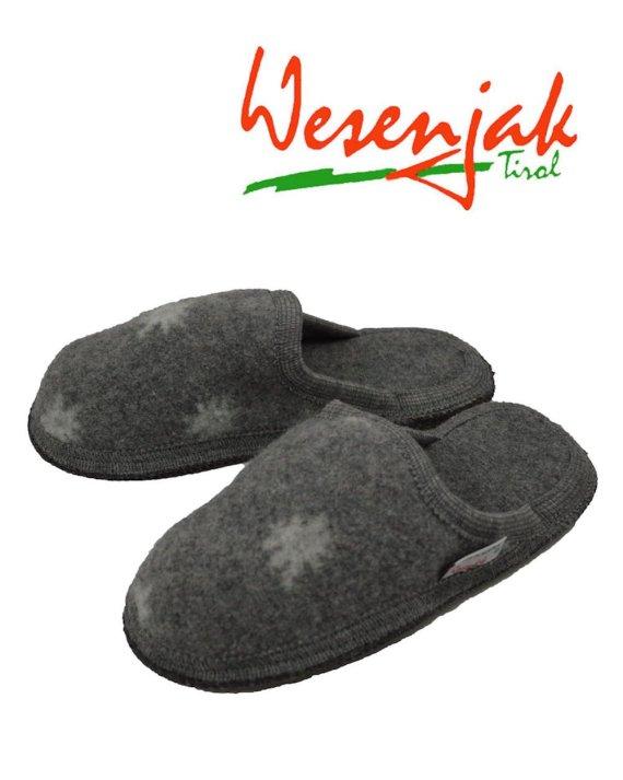Wesenjak Austrian Slipper Mule – Grey Star