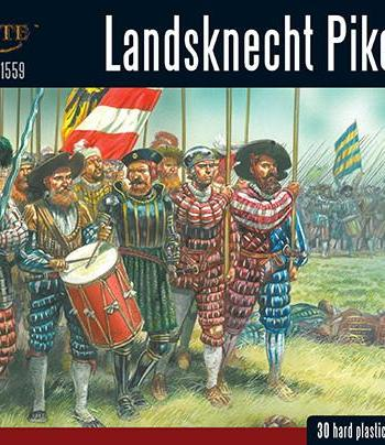 Pike & Shotte - Landsknecht Pikemen