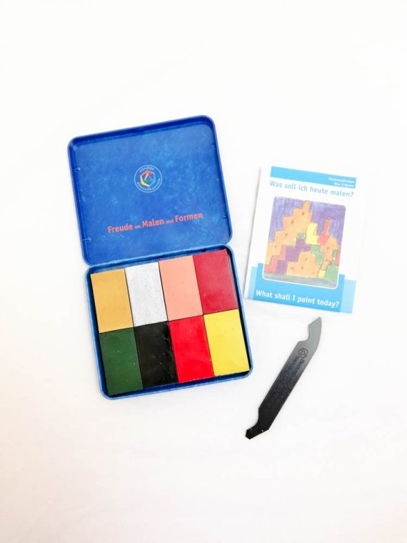 Stockmar Crayon Blocks Set of 8- Supplementary Assortment 02