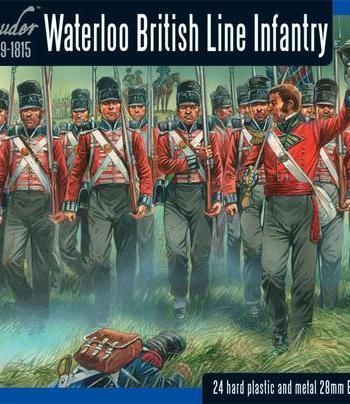 Black Powder - Waterloo British Line Infantry