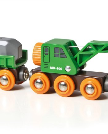 Clever Crane Wagon by BRIO