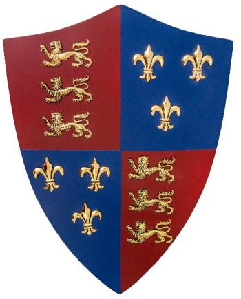 Royal England Shield Sword Mount