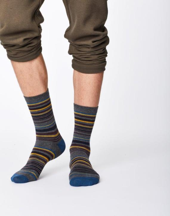 Thought Marshland Sock Mid grey
