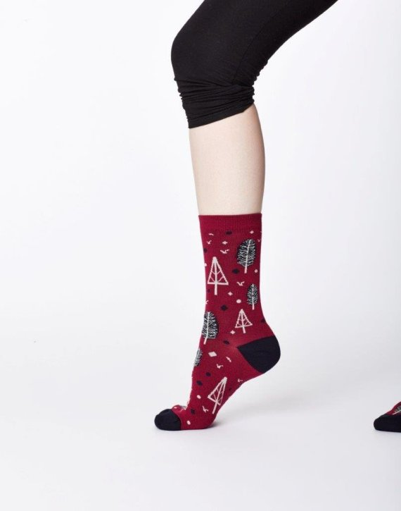 Thought Erskie Sock Cranberry