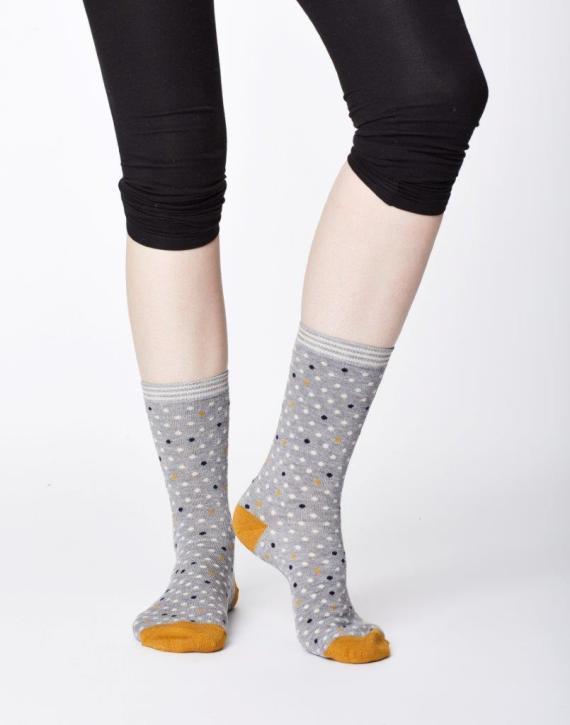 Thought Niven Sock Grey