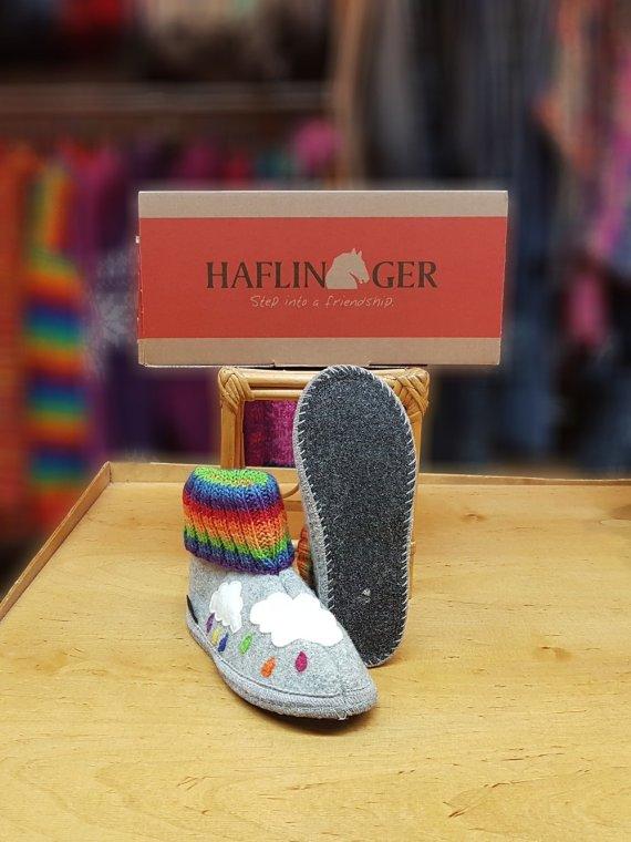 haflinger colorful slipper