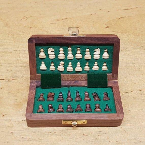 Magnetic Chess Traveler Set Small