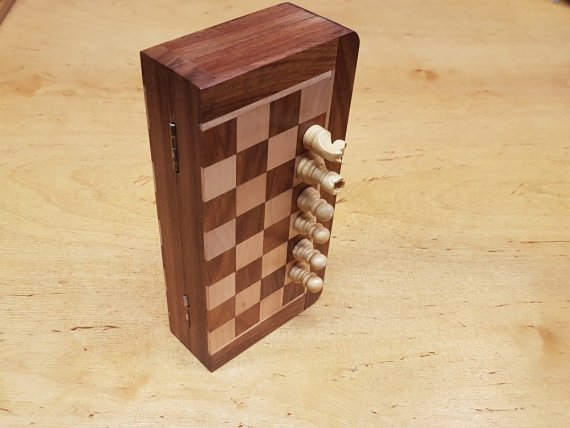 Magnetic Chess Travel Set Small