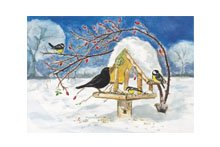 Bird Table Card