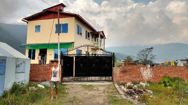 The new Grace Orphanage Orphanage on the outskirts of Kathmandu