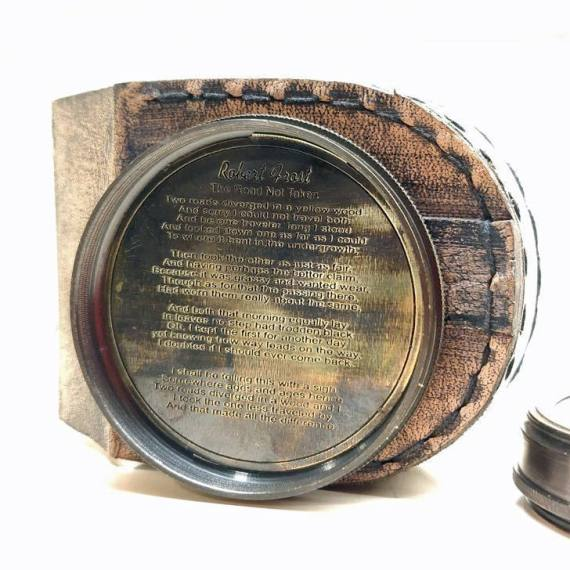 antique compass inside
