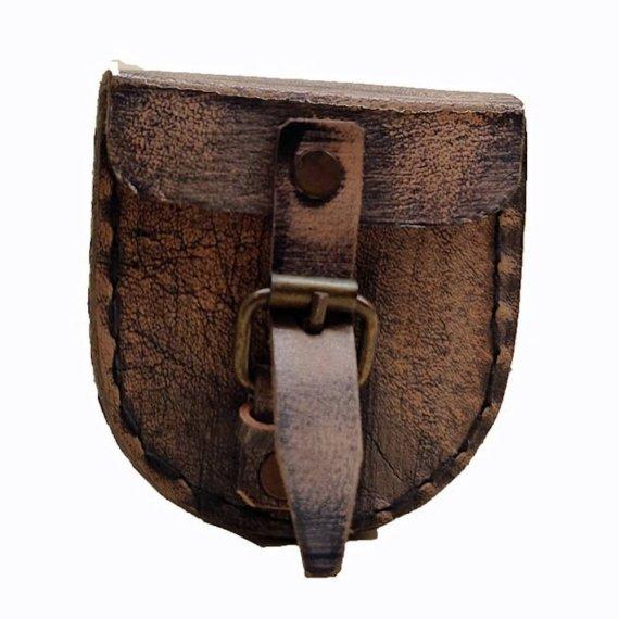 antique compass leather