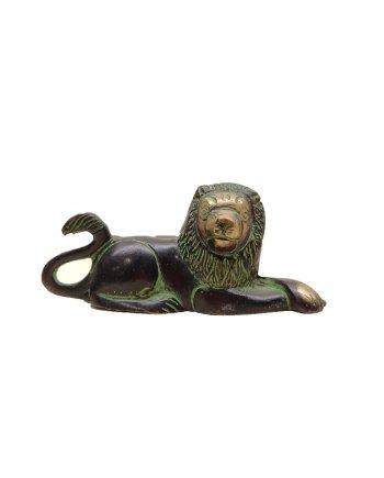 Bronze Lying Lion