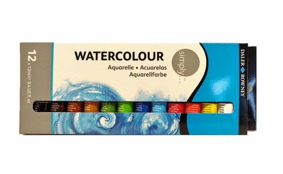 Lyra Watercolour Aquarelle Set