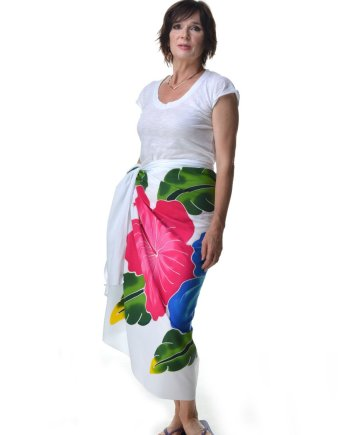 Ibu Indah Hand Painted Sarong