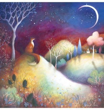 Starry Meadows Card by Heart of a Garden