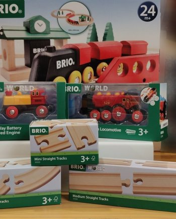 BRIO & Bigjigs Trains, Tracks and Accessories
