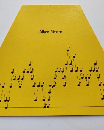 Aiken Drum Music Sheet