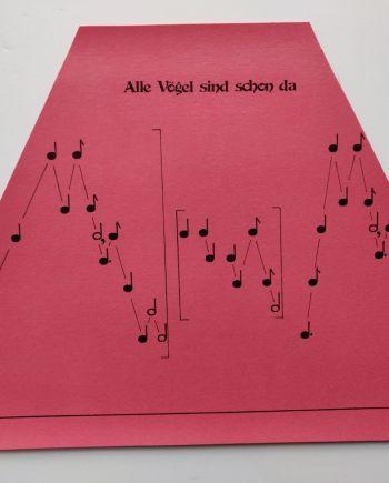 Alle Vögel sind schon da Music Sheet