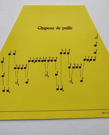 Chapeau de Paille Music Sheet