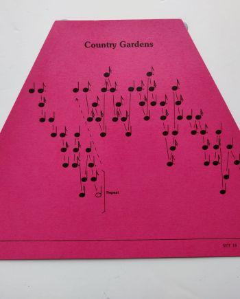 Country Gardens Music Sheet