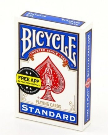 Bicycle Double Back Trick Card Deck