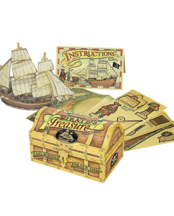 Build A Pirate Ship Kit by Authentic Models