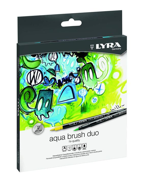 Lyra Aqua Brush Duo 12 Box