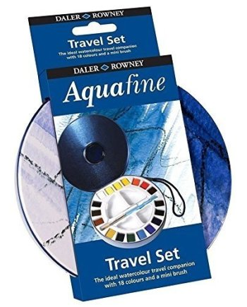 Lyra Aquafine 18 Colour Mini Travel Watercolours Set