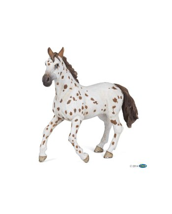 Papo Brown Appaloosa Horse, Figurine