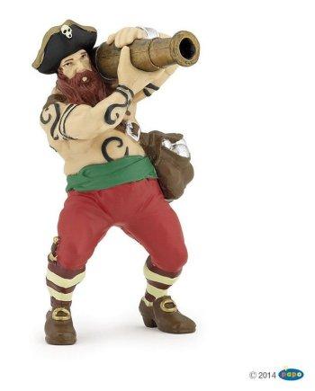Papo Cannon pirate, Figurine