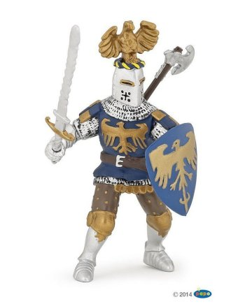 Papo Crested Blue Knight