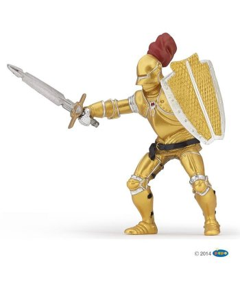Papo Knight in Gold Armour