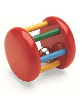 Bell Rattle Multicolor by BRIO
