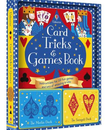 Card tricks and games kit