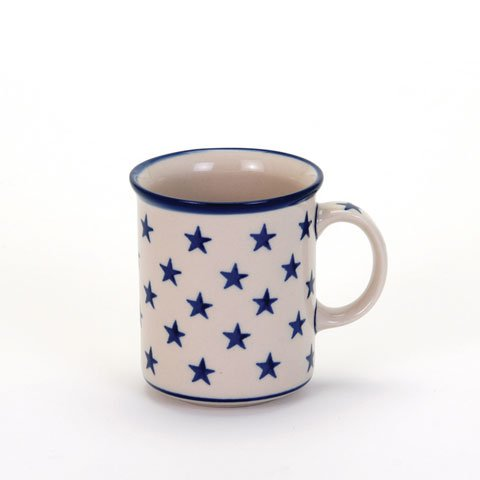 Morning Star Everyday Mug, Polish Pottery Stoneware Ranges