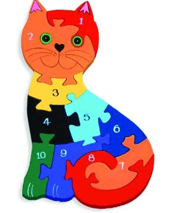 Number Cat Puzzle