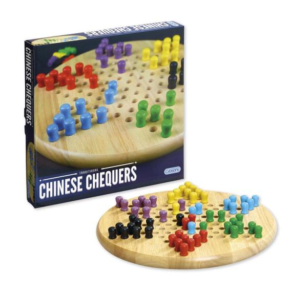 CHINESE CHEQUERS BOARD GAME