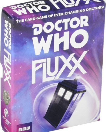 Fluxx: Doctor Who Fluxx Card Game