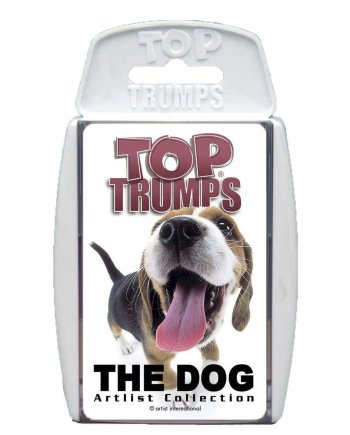 Top Trumps The Dog Top Trumps Card Game