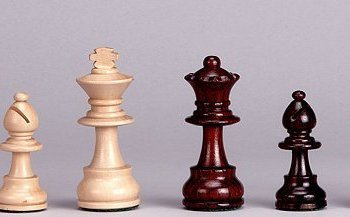 Weighted Chess Pieces Rosewood felted Set
